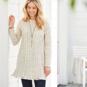 J.Jill button down back sweater